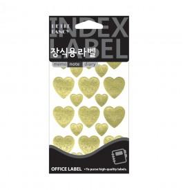 20-510 heart (금색)