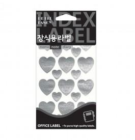 20-511 heart (은색)