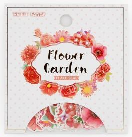 DA5414 Flower garden (red)