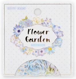 DA5415 Flower garden(blue)