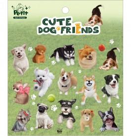 DA5440 Cute Dog Friends