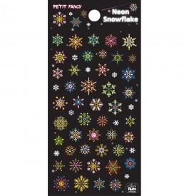 DA5548 Neon Snowflake
